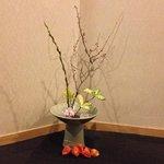 Beautiful Flower Arrangements throughout the Inn