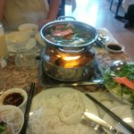 Mixed hot pot