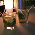 Happy Hour Mojito's at the Wave Bar and Lounge