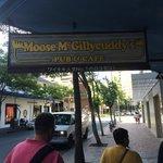 Moose Mcgillycuddys Sign