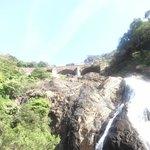 Dudhsaagar waterfall (Chennai EXP)