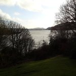 View of lake Windermere from the hotel's garden