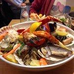 """Il piatto """"Seafood Bar"""""""