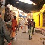 Улочки в центре Варанаси