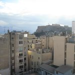 View from terrace ofthe  Acropolis