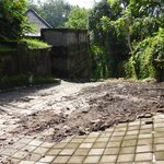 thick mud from renovations