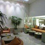Reception sitting-area