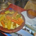 couscous poulet légumes!