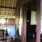 Room and outdoor patio