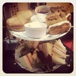 Mrs Jones Afternoon Tea for two.