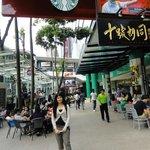 Side-walk restaurants