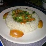 Thai Vegetable Curry & Rice