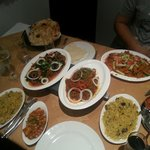 A selection of curries