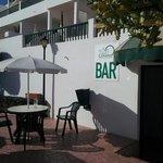 Bar entrance at Villa Canaima