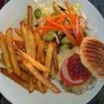 il burger di carne di cammello