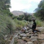 el rio a 500 metros del lugar