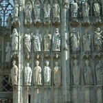 Cathedrale Notre-Dame de Rouen: Francia: statuette sull facciata