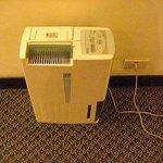 廊下の空気清浄機