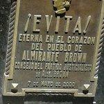 tumulo de Evita.