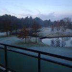 Uitzicht op de golf baan