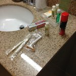 Toiletries by request