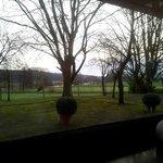 Aussicht vom Frühstückssaal