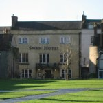 Front of Hotel from Cathedral Green
