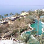 View of Dead Sea from Resort Balcony