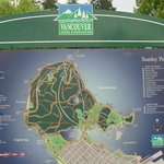 map of Stanley Park