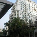 l hotel visto dall'esterno
