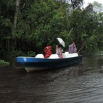 Boat Trip in Monsoon Rain