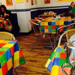 Colourful tables !