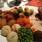 My Dinner, Christmas Day 2013, Thanks Dave.