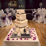 Cake table (Photo by Fowlis Photography)