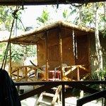 hut 2 photo taken from hammack on hut 1