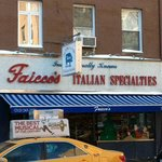 A very old family owned Italian food shop.