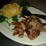 Crispy aromatic duck.