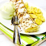 Banana Tissue Ice Cream Prata