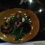 octopus with feta & olives