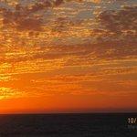 Marco Island beach sunset - hotel room view