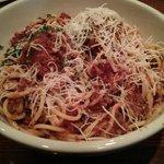 Spaghetti Bolognese and Meatballs