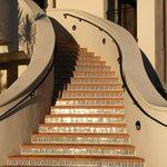 Mediterranean-style steps