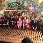 Jager train on a night out with Carpe Noctem Vitae