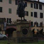 Statue in Greve en route