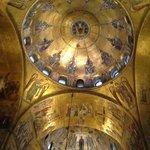 サンマルコ大聖堂の天井
