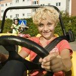 3-Punkt Sicherheitsgurte in den Autos