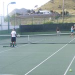 Tennis with Oliver