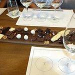 Pulenta wine and chocolate pairing