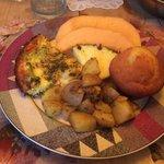 Kose Cottage breakfast!