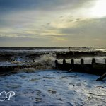 Southword beach by the peir in Jan by cracknell photography